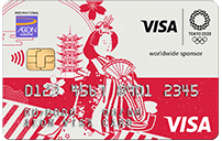 Visa Olympic Themed Card Issued by AEON